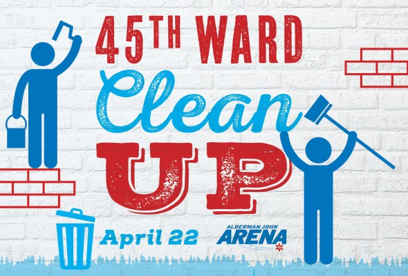 45th Ward Clean Up – April 22