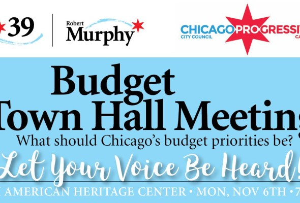 Budget Town Hall Meeting Nov. 6