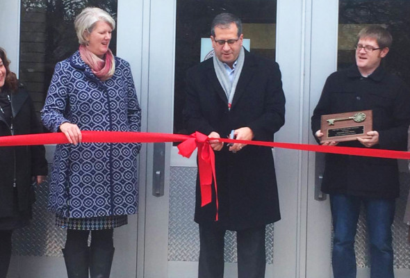 Belting Elementary Ribbon Cutting Ceremony