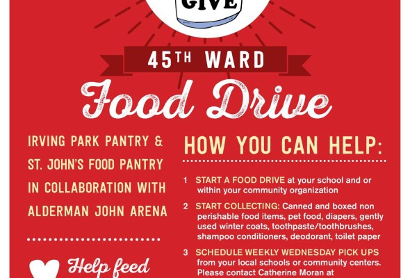 45th Ward Food Drive