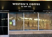 Opening Soon, Weston's Coffee & Tap Co.