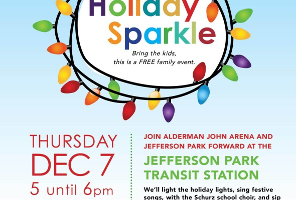 Holiday Sparkle at Jefferson Park Transit Center