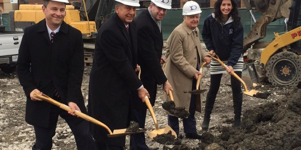 Groundbreaking Ceremony for 5201 W. Lawrence