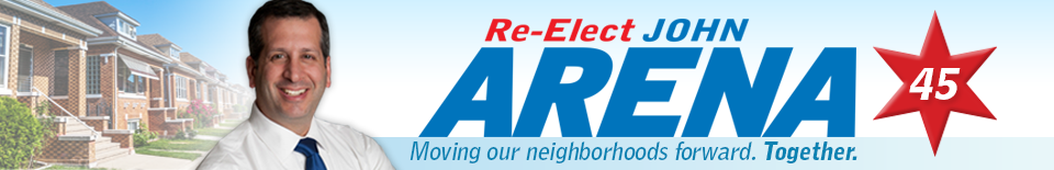 Re-Elect John Arena, 45th Ward Alderman Chicago
