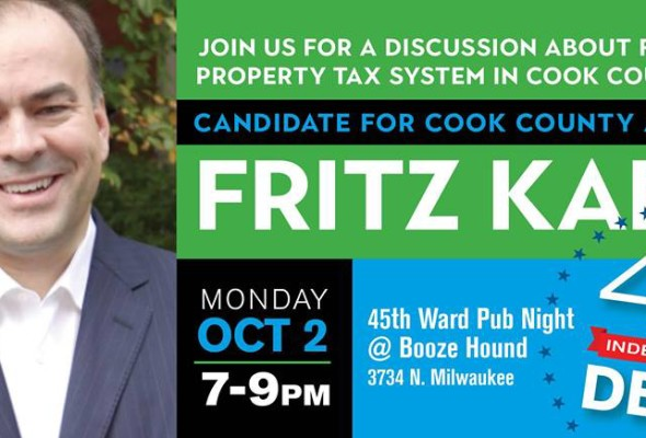 45th Ward Pub Night with Candidate Fritz Kaegi