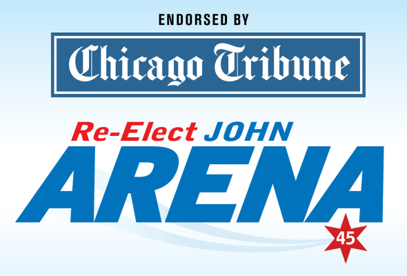 Chicago Tribune Endorses Alderman John Arena for Re-Election in 45th Ward