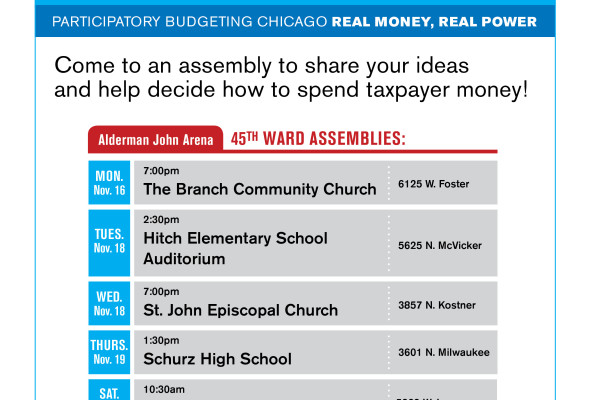 45TH Ward Participatory Budgeting