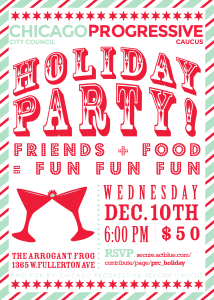 Reform Caucus Holiday party invite