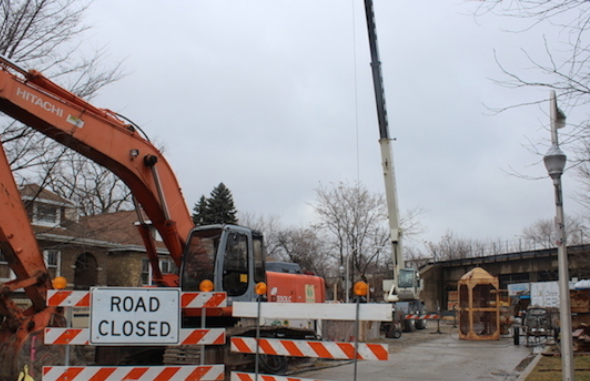 Jeff Park Sewer Project to Close Montrose Avenue from May to September