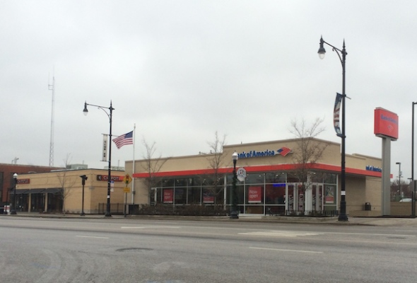 New Six Corners Bank of America Branch Opens, Paving Way for Redevelopment