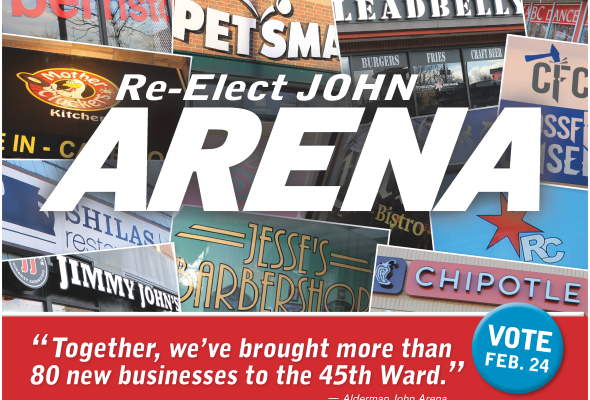 Arena Campaign Releases List of More than 80 New Businesses Brought to 45th Ward