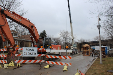First Phase of Lawrence Avenue Sewer Project Set to End on Christmas Eve
