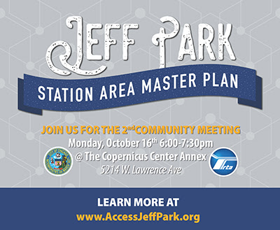 Jeff Park Master Plan Community Meeting October 16