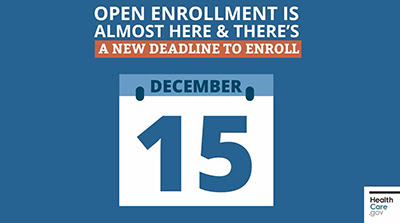 Enrollment for Affordable Care Act Insurance Opens November 1